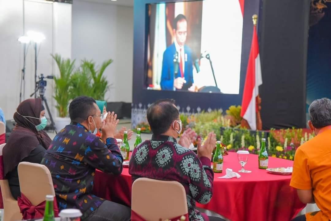 2021, Presiden Jokowi Yakini Prospek Ekonomi Indonesia kian Membaik