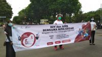 PERINGATAN Hari AIDS Sedunia di Jembrana, Selasa (1/12/2020). Foto: ist