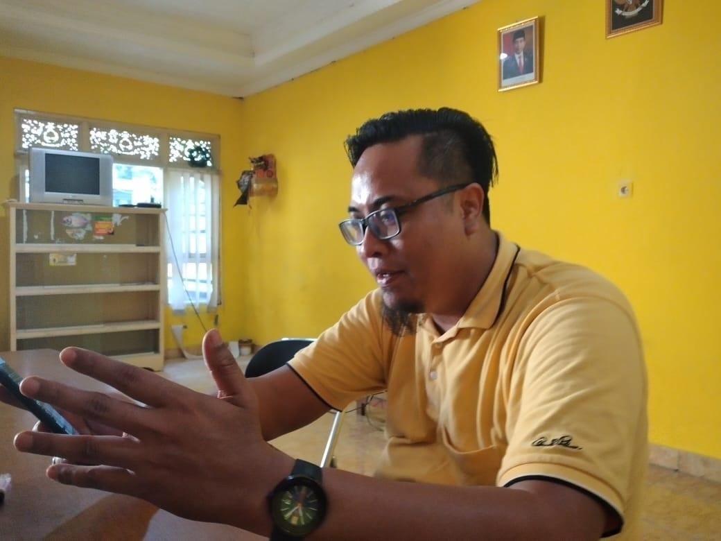 KETUA DPD Golkar Karangasem, I Gusti Ngurah Setiawan. Foto: nad
