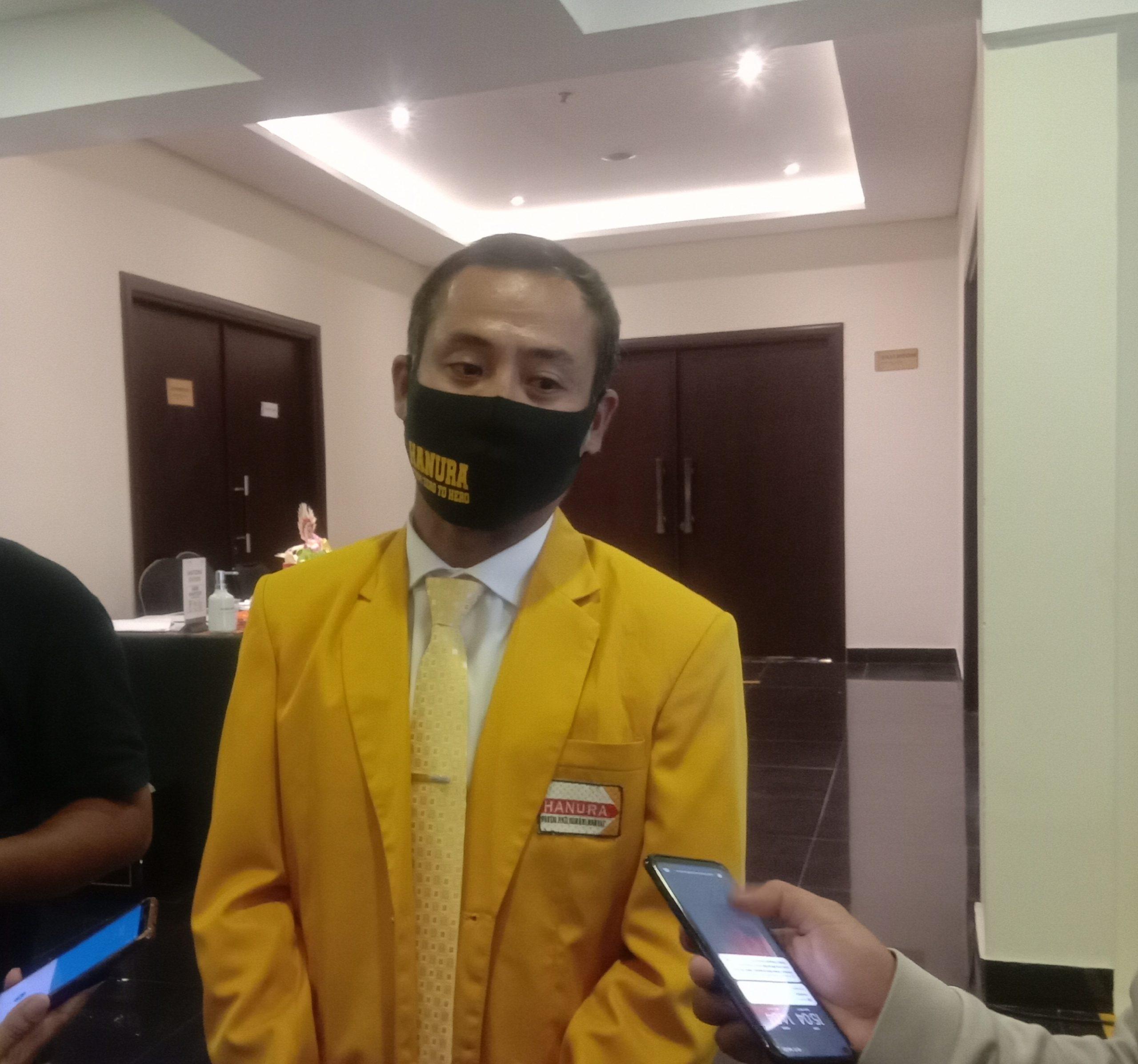 KETUA DPD Hanura Bali, Kadek Arimbawa alias Lolak. Foto: alt