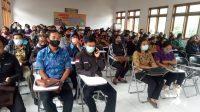 SEBANYAK 1.208 pegawai tidak tetap (PTT) dan guru tidak tetap (GTT) di lingkungan Disdikpora Bangli mendapat SK perpanjangan kontrak. Foto: gia