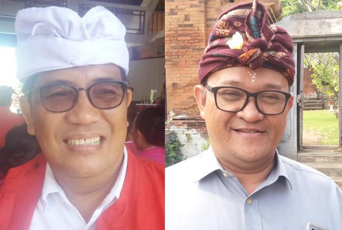 I Komang Gede Sanjaya dan AA Ngurah Panji Astika. Foto: ist