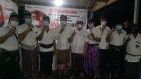 ACARA simakrama tim pemenangan Ketut Sudana bersama koordinator lapangan (Korlap) Partai Gerindra se-Denpasar Utara (Denut) dengan paslon Jaya-Wibawa.