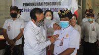 PELANTIKAN pengurus PHRI Jembrana, Rabu (2/12/2020). Foto: ist