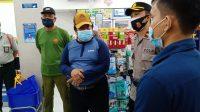 KEGIATAN sidak prokes menyasar pelaku usaha di wilayah Kecamatan Denpasar Utara. Hingga Senin (18/1/2021) tercatat 2.381 pasien Covid-19 di Bali masih dirawat di rumah sakit. Foto: ist
