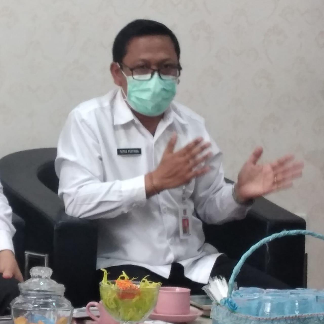 KEPALA Dinas Kesehatan Kabupaten Karangasem, I Gusti Bagus Putra Pertama. Foto: nad