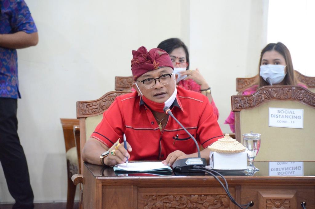 ANGGOTA Fraksi PDIP DPRD Bali, Gede Kusuma Putra. Foto: hen