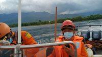 PETUGAS Basarnas Bali melakukan pencarian warga Desa Pemuteran, Kecamatan Gerokgak, I Kadek Astawan, yang dilaporkan hilang saat melakukan aktivitas spear fishing.