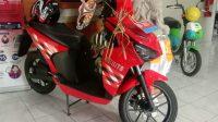 GESITS, kendaraan listrik berbasis baterai yang terpajang di Kantor Dinas Perhubungan Provinsi Bali. Foto: alt