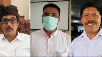 KN. Boy Jayawibawa, AA Made Asmara Wijaya, dan Ketut Suarya. Foto: tra