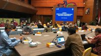 BUPATI Suwirta audiensi ke Menteri Sandiaga Salahuddin Uno di Jakarta, Jumat (19/2/2021). Foto: ist