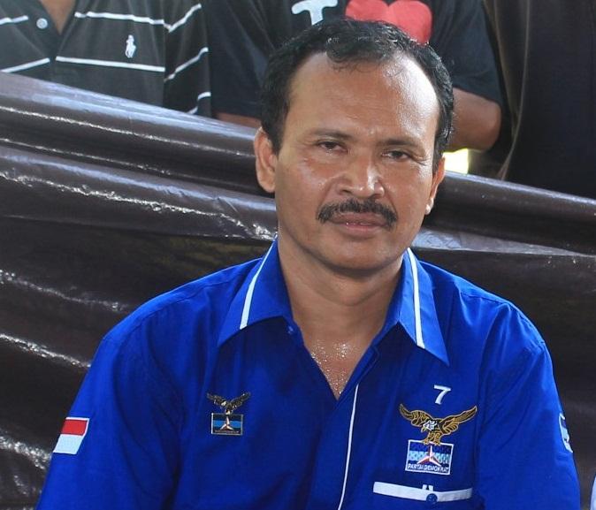 KETUA DPC Demokrat Jembrana, I Wayan Wardana. Foto: man
