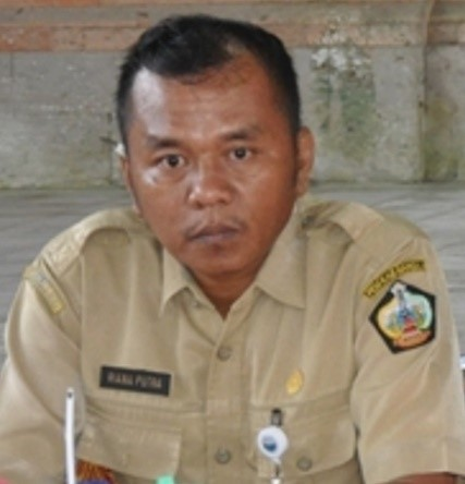 KEPALA Dinas Pemberdayaan Masyarakat dan Desa Kabupaten Bangli, I Dewa Agung Bagus Riana Putra. Foto: gia