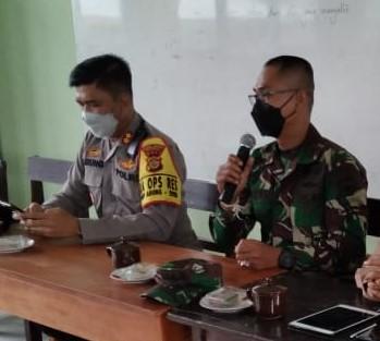 POLRES dan Kodim 1626/Bangli menyatakan siap mengamankan Pemilihan Perbekel (Pilkel) Serentak di 13 desa di Bangli, Kamis (18/2/2021). Foto: ist