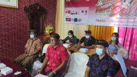 PENILAIAN Gebyar Tari Bali ke-13 yang dilaksanakan secara daring. Foto: adi