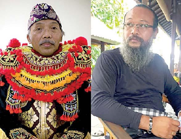 Prof. Dr. I Wayan Dibia dan Ida Bhawati Agung Wisnawa. Foto: ist