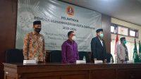 Pj. Sekda Kota Denpasar, I Made Toya, saat menghadiri pelantikan PDPM Kota Denpasar periode 2020-2024 di Gedung DPD RI Perwakilan Provinsi Bali, Sabtu (6/3/2021). Foto: ist