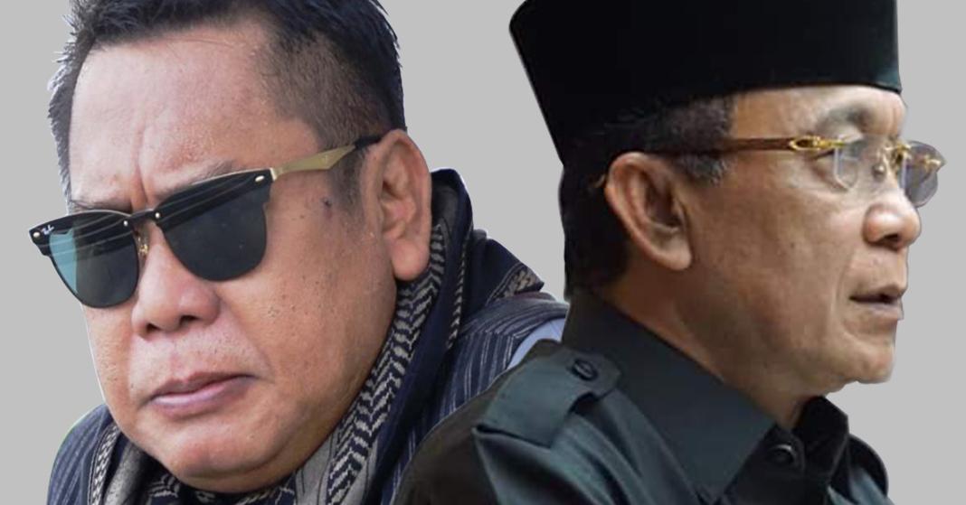 HM Suhaili FT dan Ahyar Abduh. Foto: rul