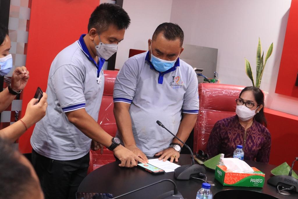 Pemkab Jembrana Luncurkan Aplikasi Jembrana Emergency Service
