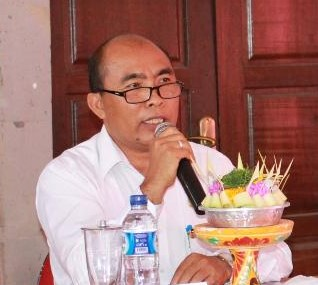 KEPALA Badan Keuangan, Pedapatan dan Aset Daerah (BKPAD) Kabupaten Bangli, I Ketut Riang. Foto: gia