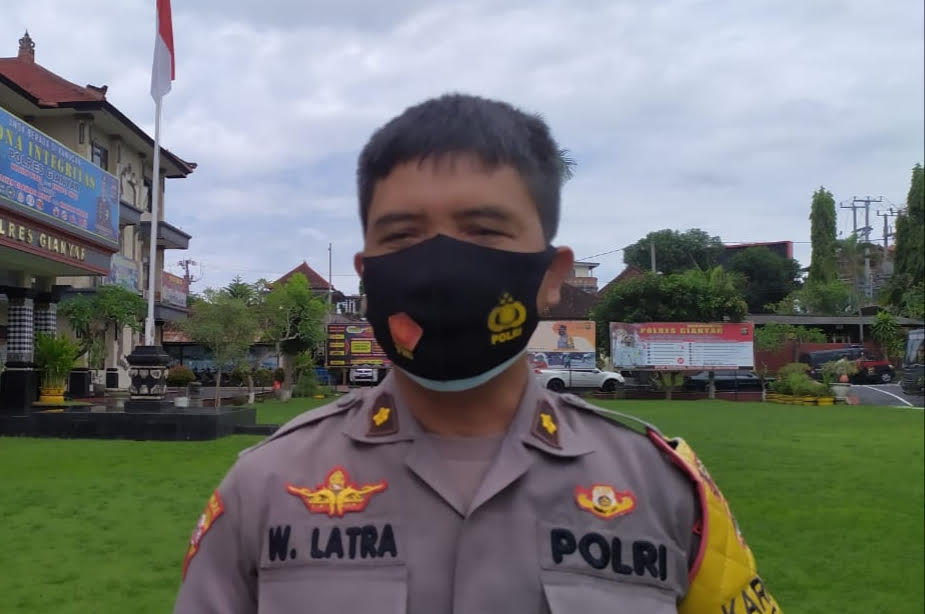 KABAG Ops. Polres Gianyar, Kompol I Wayan Latra. Foto: adi