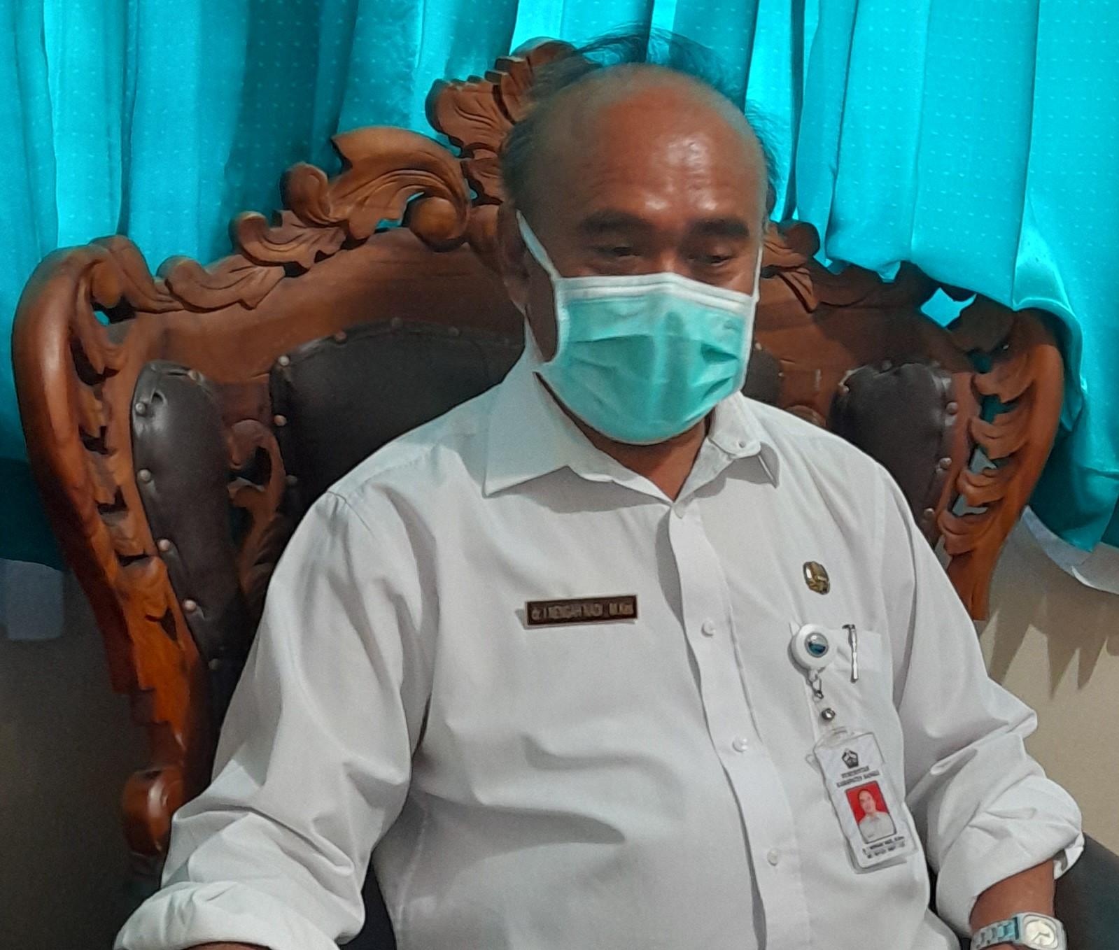 KEPALA Dinas Kesehatan Kabupaten Bangli, dr. I Nengah Nadi. Foto: gia
