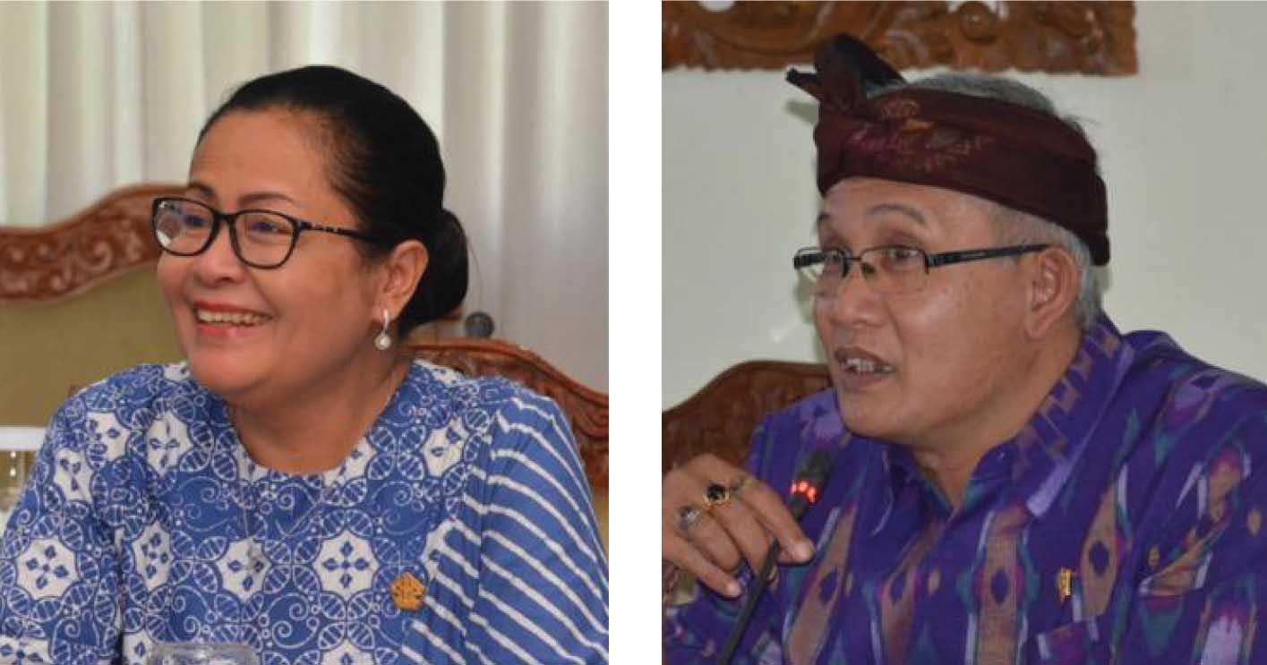 Utami Dwi Suryadi dan IGK Kresna Budi. Foto: hen