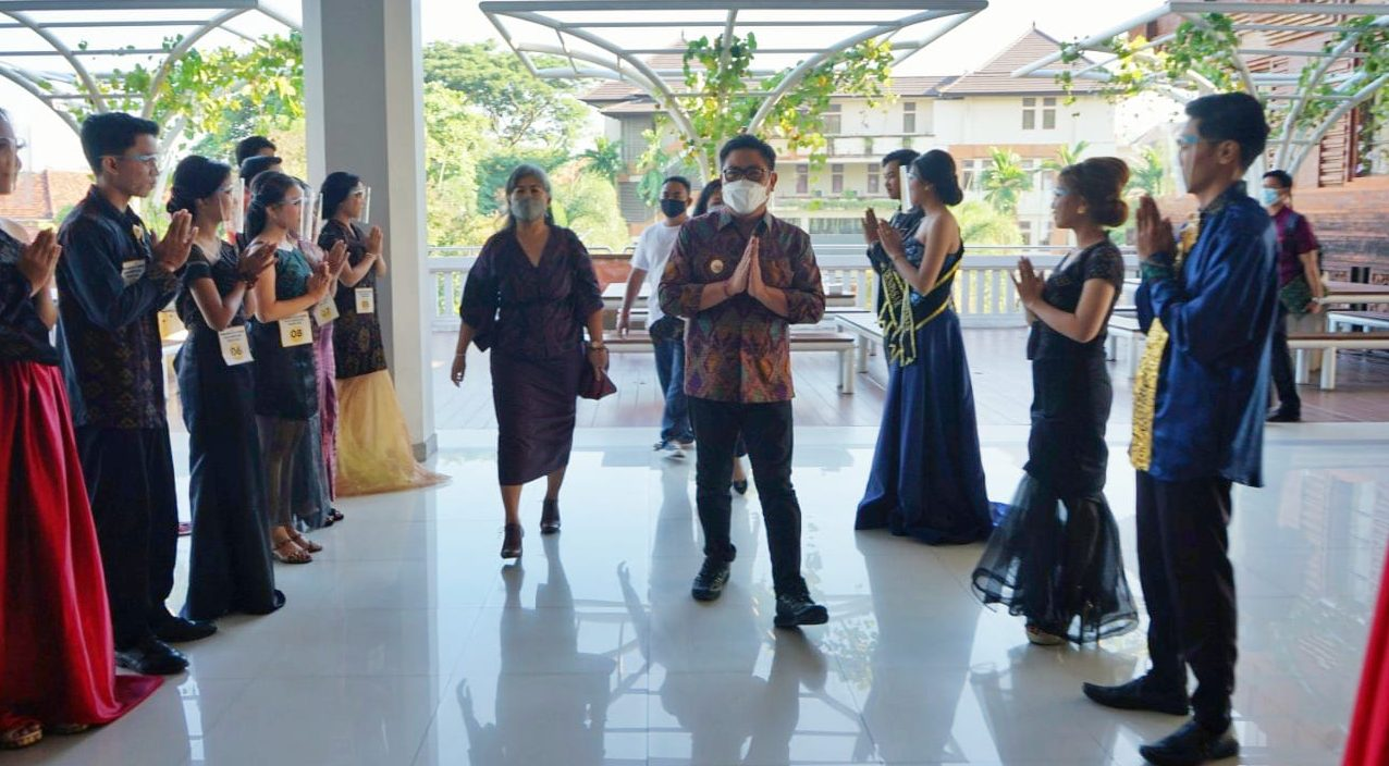 Buka Pemilihan Duta GenRe, Arya Wibawa Berharap yang Juara bisa Harumkan Nama Denpasar
