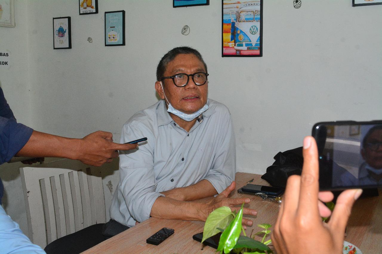 MISBACH Mulyadi saat memberi keterangan ke wartawan, Rabu (7/4/2021). Foto: rul