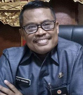 KEPALA Dinas Kebudayaan Karangasem, I Putu Arnawa. Foto: ist