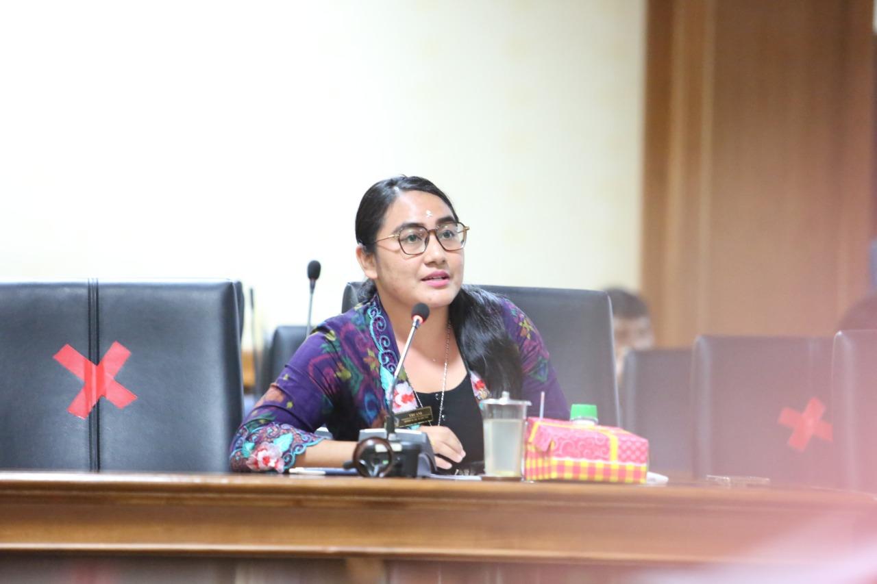 ANGGOTA DPRD Badung, Ni Komang Tri Ani. Foto: nas