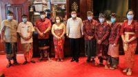 BAWASLU Bali audiensi dengan Bupati Gianyar. Foto: adi