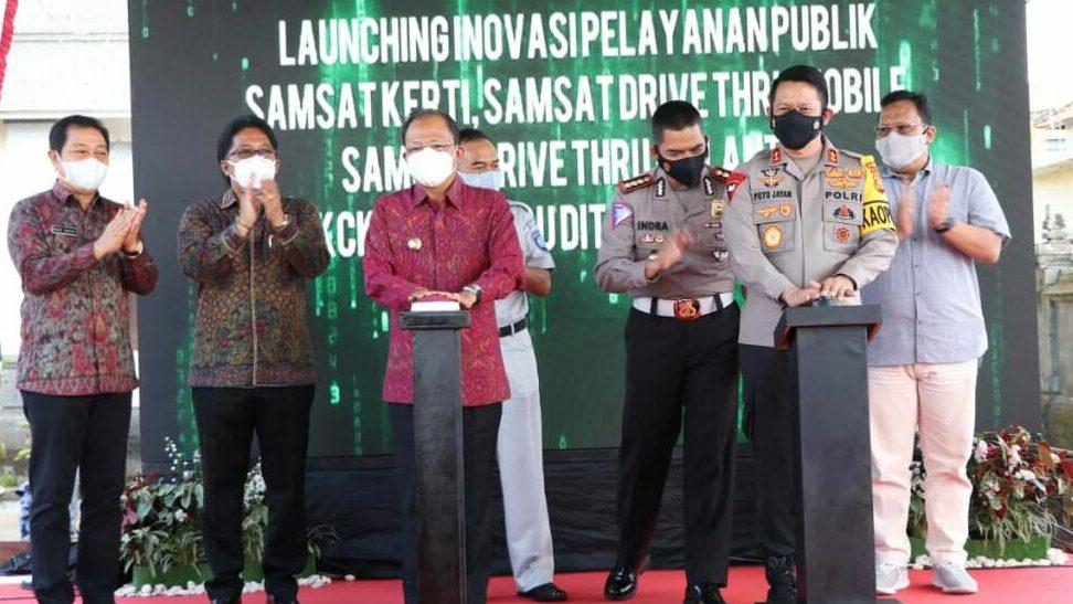 Gubernur Koster Apresiasi Inovasi Pelayanan Publik Polda Bali