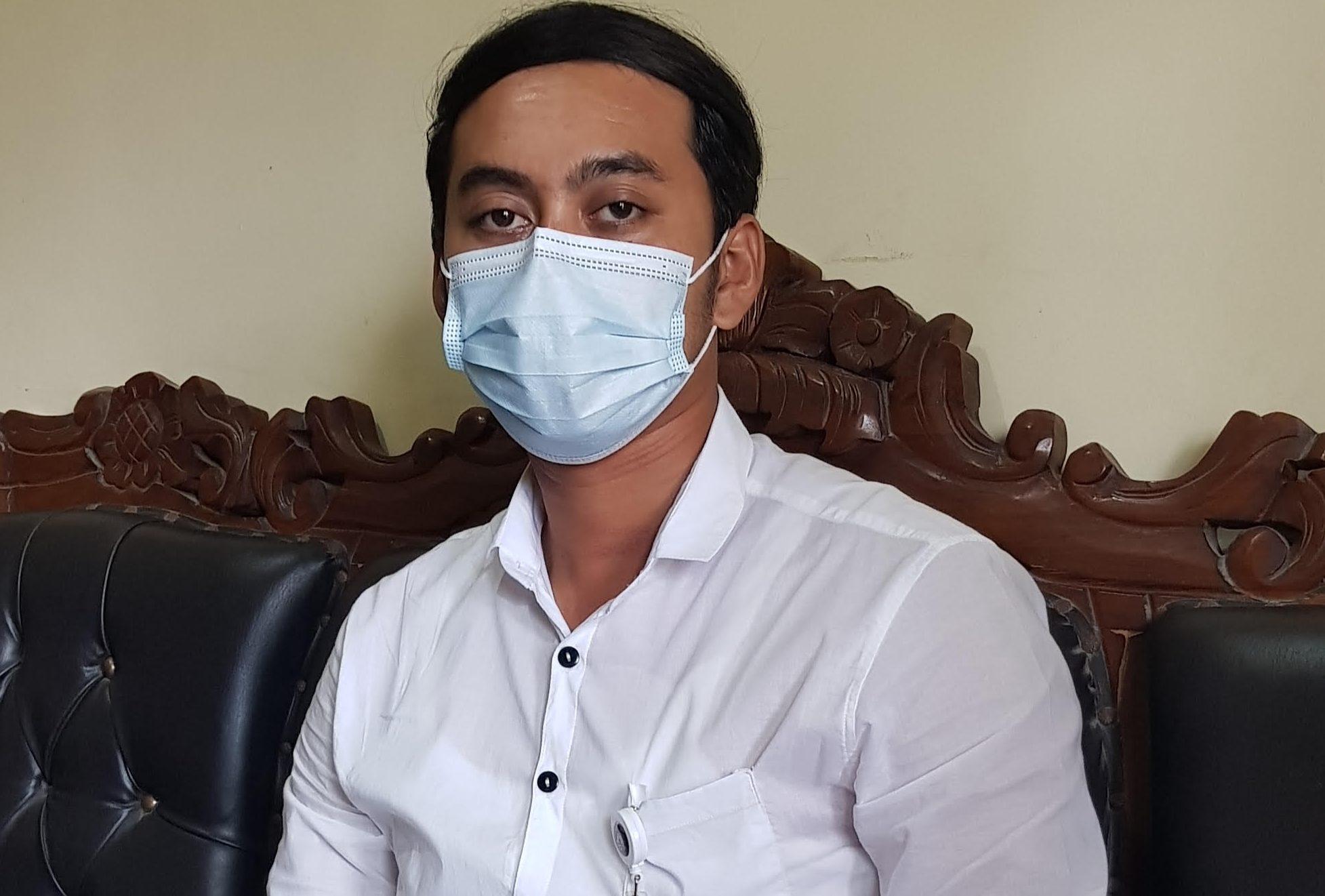Plt Perbekel Melinggih, I Gede Adi Utama. Foto: adi