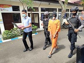 Bobol Konter HP di Bayubiru, Ditangkap di Palembang