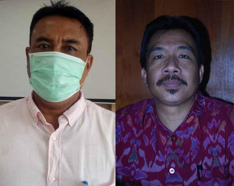 AA Made Wijaya Asmara dan I Wayan Murdana. Foto: tra