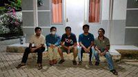 GUBERNUR Zulkieflimansyah saat bersama para peneliti dan pimpinan Sumbawa Technopark di Kabupaten Sumbawa yang berhasil menemukan alat dan sistem deteksi dan surveilans virus SARS-Cov2. Foto: ist