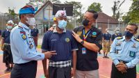 KEPALA BNPP Bali, Brigjen Gede Sugianyar Dwi Putra, mengunjungi Lapas Narkotika (Lapastik) Kelas II A Bangli, Selasa (15/6/2021). Foto: ist