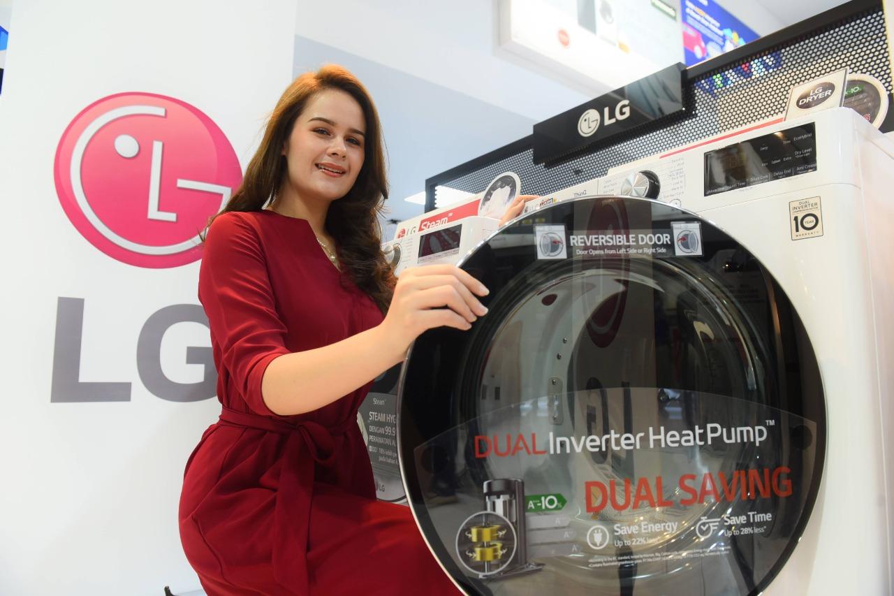 LG Dual Inverter HeatPump ThinQ™ secara resmi mulai dipasarkan di Indonesia. Foto: ist
