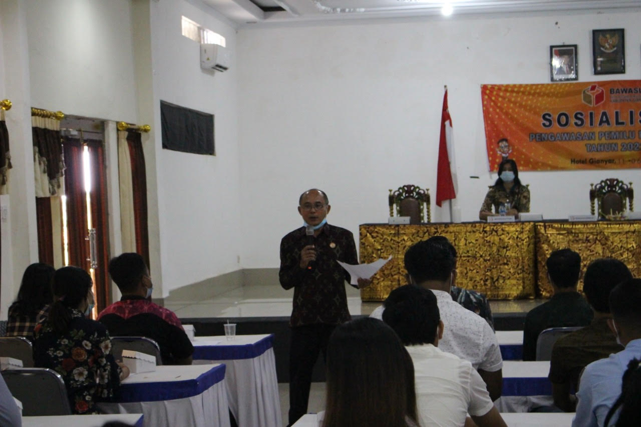 SOSIALISASI pengawasan pemilu partisipatif. Foto: adi