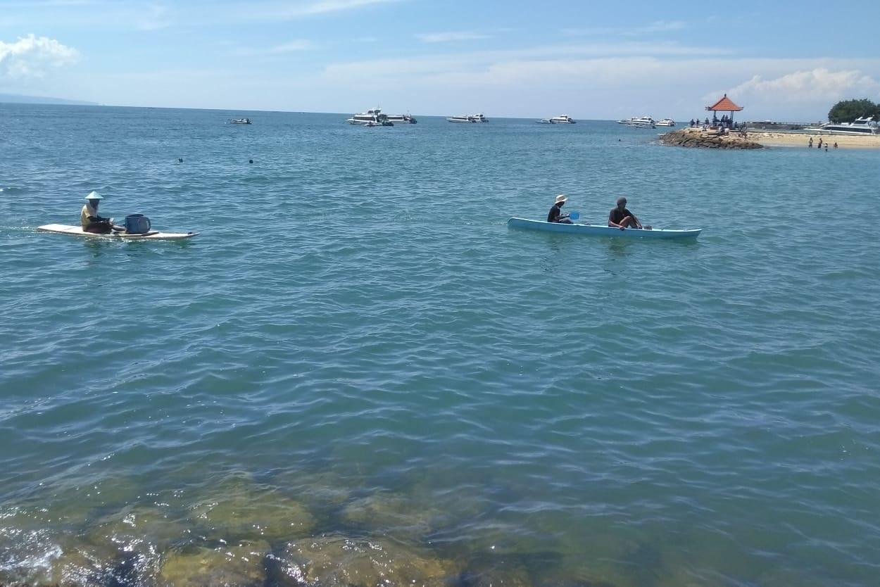 SUASANA Pantai Sanur, Kota Denpasar. Sanur siap menyambut WFB dengan menawarkan program spesifik Work From Sanur. Foto: rap