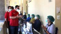 BUPATI Tabanan, I Komang Gede Sanjaya, yang didampingi beberapa anggota DPRD Tabanan, melakukan kunjungan mendadak ke BRSU Tabanan, Jumat (2/7/2021). Foto: ist