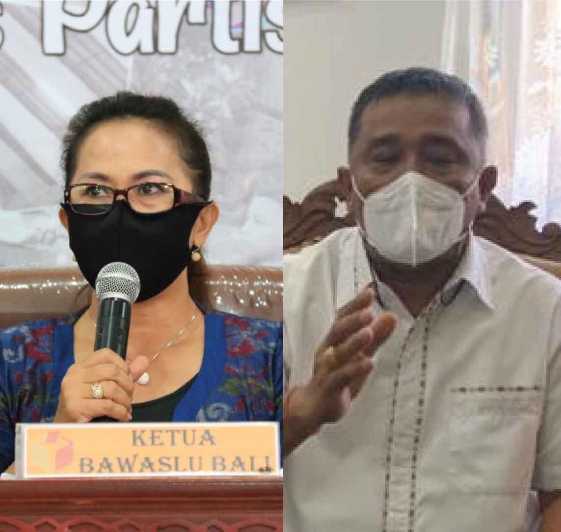 Ketut Ariyani dan Lidartawan. Foto: hen