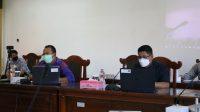 RAPAT DPRD Buleleng bersama Pemkab Buleleng membahas Ranperda tentang Pertanggungjawaban Pelaksanaan APBD Tahun 2020. Foto: rik