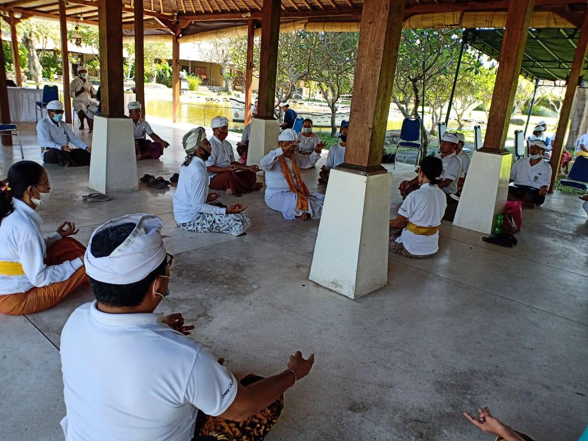 YAYASAN Segara Giri menyelenggarakan Wana Widya Nugraha di Istana Taman Jepun Bali, Tanjung Bungkak, Denpasar, belum lama ini. Foto: ist
