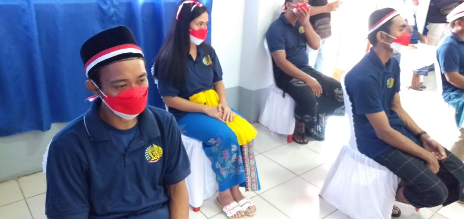 PEMBERIAN remisi di Rutan Gianyar. Foto: adi