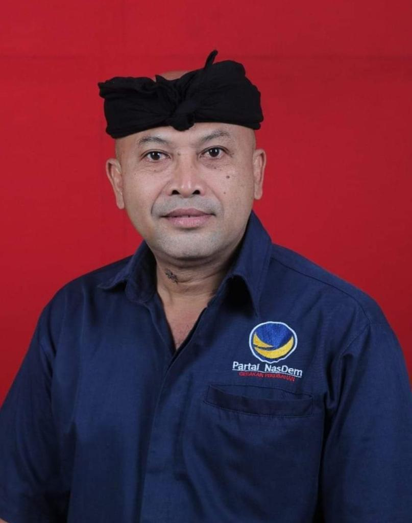 KETUA DPD Partai NasDem Buleleng, Made Suparjo. Foto: ist