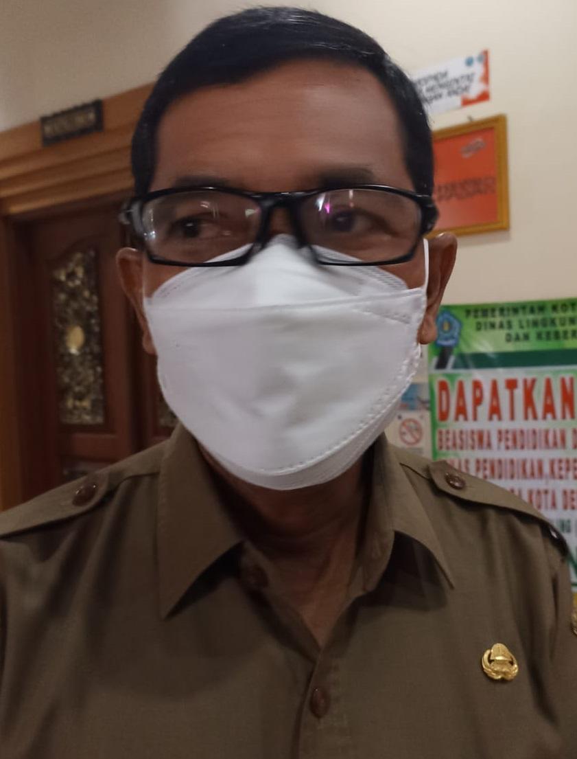 Plt. Kadisdikpora Kota Denpasar, IGN Eddy Mulya. Foto: tra