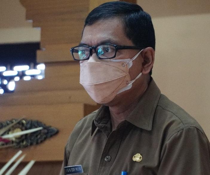 Plt Kadisdikpora Kota Denpasar, IGN Eddy Mulya. Foto: tra