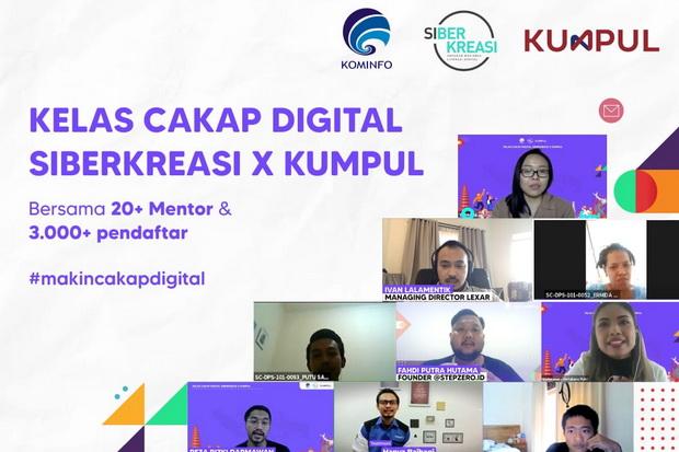 KELAS Cakap Digital Siberkreasi X KUMPUL, salah satu kegiatan edukasi literasi digital di seluruh Indonesia telah berhasil diselenggarakan di Bali, Surabaya, Yogyakarta, Bandung, dan Semarang. Foto: ist